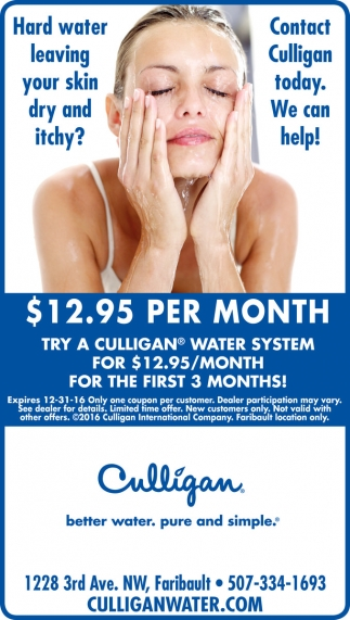$12.95 per month