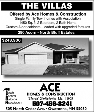 Ace Homes and Construction