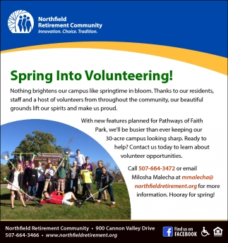 Spring Into Volunteering