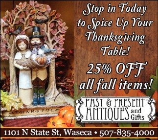 25% off all fall items