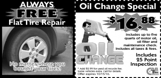 ALWAYS FREE Flat Tire Repair