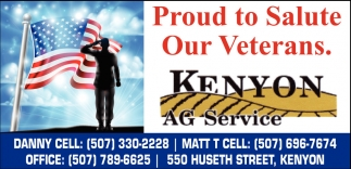 Proud to Salute Our Veterans