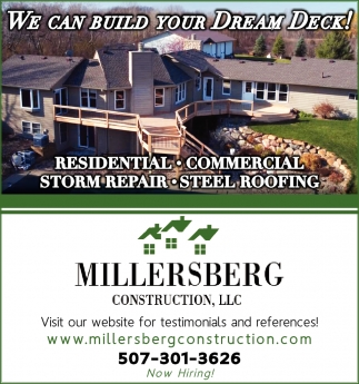 WE CAN BUILD YOUR DREAM DECK!