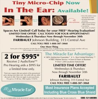 2017 05 a great miracle minnesota company - Tiny Micro Chip Miracle Ear Faribault Faribault Mn