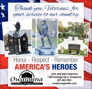America's Heroes