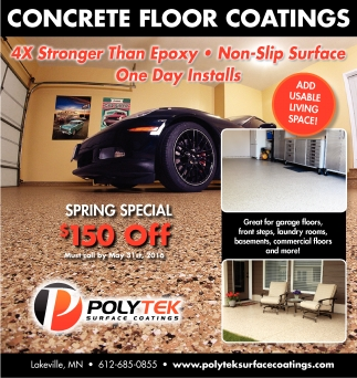 CONCRETE FLOOR COATINGS