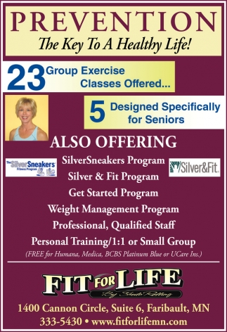 23 Group Exercise Classes Offered