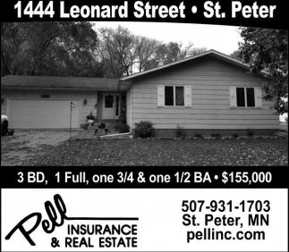 1444 Leonard Street - St. Peter