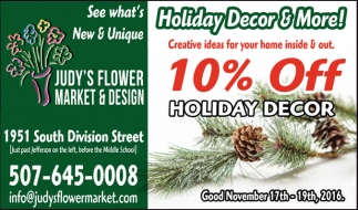 10% Off Holiday Decor
