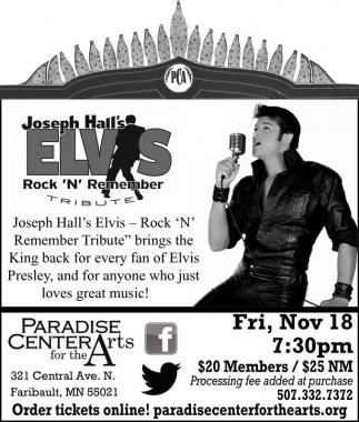 Joseph Hall's Elvis