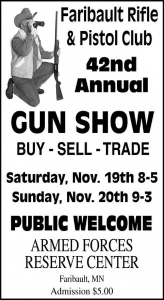 42nd Annual Gun Show