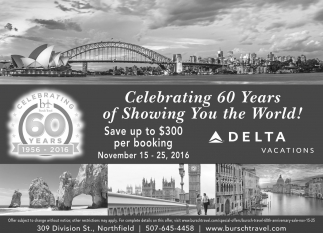 Celebrating 60 Years of Showing You the World!