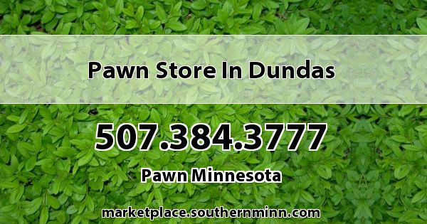Pawn store in Dundas